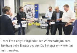 comforming Live-Demo mit den Wirtschaftsjunioren Bamberg