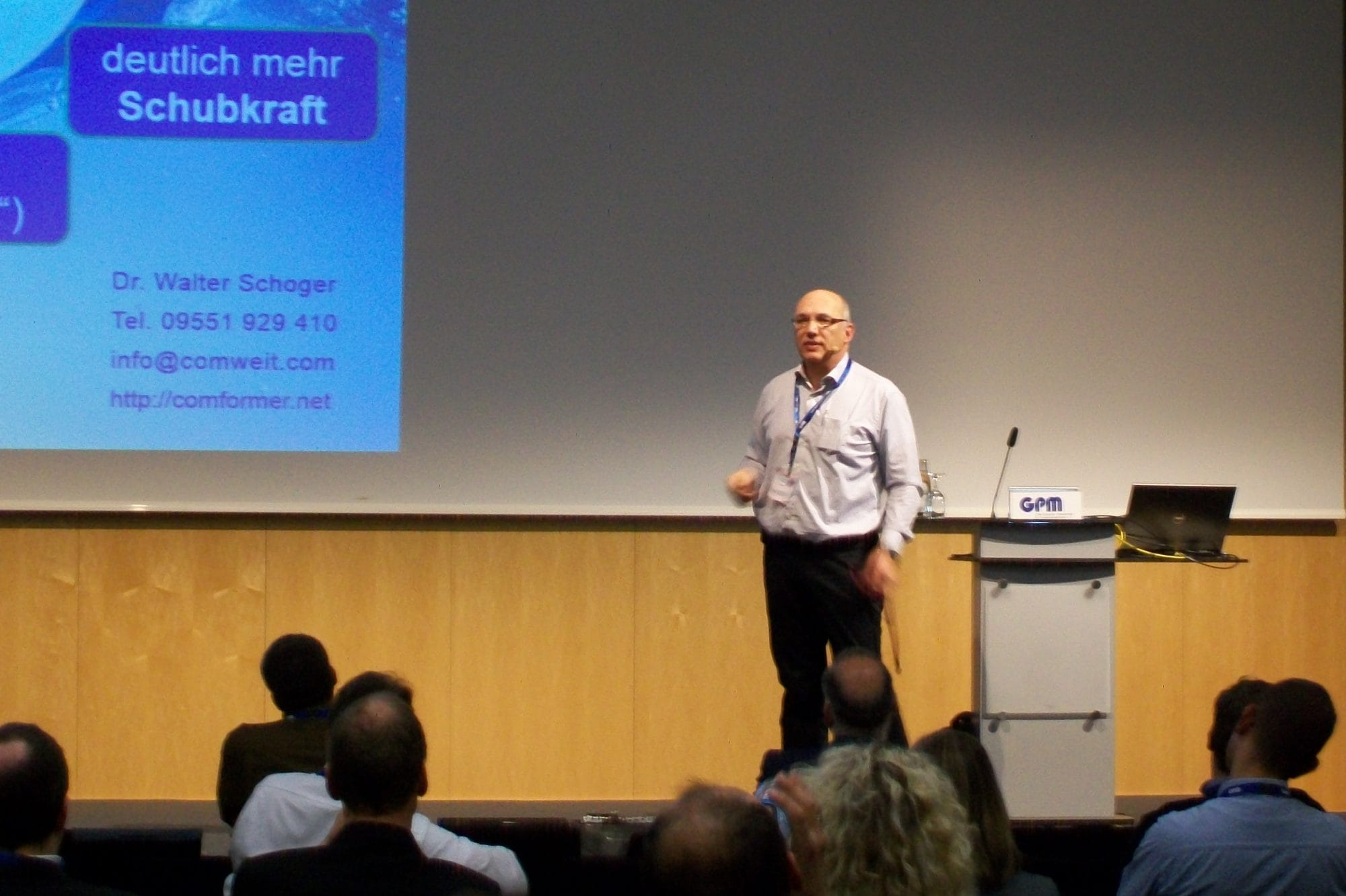 Dr. Walter Schoger: comforming als innovatives Beratungskonzept am pm-forum Nürnberg